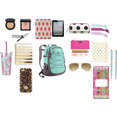 What's in your backpack? - Polyvore