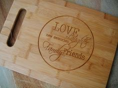 Yikes... Hurry Engraved Cutting Board Bamboo by EngraveMeThis, $28.50