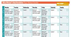 Jillian Michaels Body Revolution Phase 1 Workout Checklist.pdf