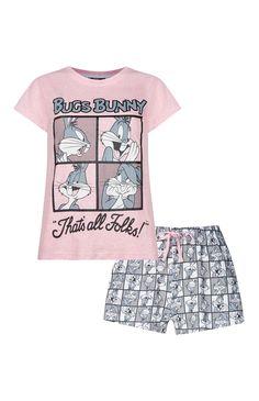 Primark - Pyjama rose Bugs Bunny
