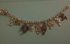 Divergent Charm Bracelet - Tris Prior - Tobias - Dauntless - Veronica Roth