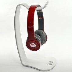 Cosmos ® Brand White Headphone Stand Hanger for Sony, Sennheiser HD598 HD448 HD558 HD280 PXC 250 II, Shure, Ultimate Ears, Koss, JVC, Philips, AKG, Monster Beats, Skullycandy, Coby, Platronics