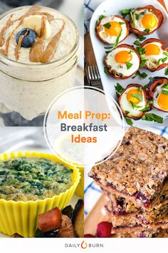 Not a Morning Person? 7 Make-Ahead Breakfast Ideas