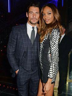 David James Gandy and Jourdan Dunn -Elle Style Awards 2014