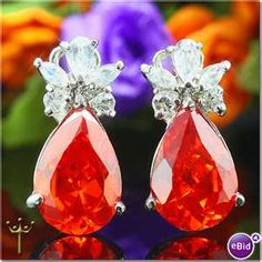 Mexican Fire Opals.  Love Love Love! I own 3 Red Mexican Fire Opals that can be setted. Very rare