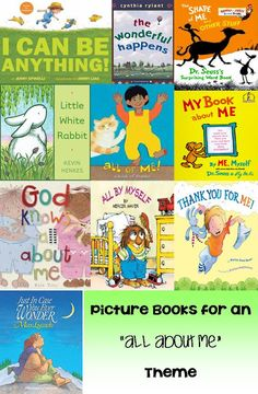 """""""All About Me"""" Themed Picture Books 