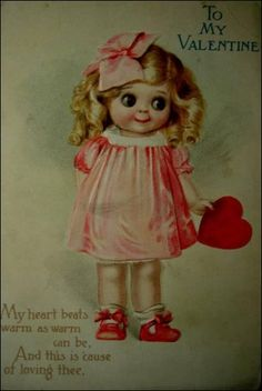 Vintage valentine - sweet