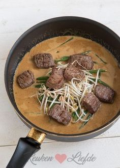 Salade biefstuk Bali van Loetje Low Carb Soup Recipes, Beef Recipes, Salad Recipes, Cooking Recipes, Healthy Recipes, Punch Recipes, Low Carb Low Calorie, I Love Food, Good Food