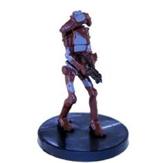 Star Wars Miniatures: Rocket Battle Droid # 19 - Jedi Academy