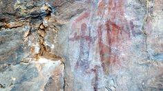 """Pinturas Rupestres en el """"Desfiladero del río Ruecas"""""""