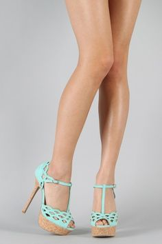 super cute and girly heels for spring and summer :)