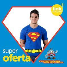 Camiseta Superman : Camiseta Superman=>>  http://www.camisetasdahora.com/p-24-255-4238/Camiseta---Superman-cinto | camisetasdahora