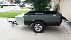 80's Datsun Pickup bed Trailer... Reworked.