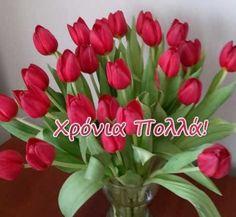 Happy Name Day, Happy Names, Birthday Celebration, Good Morning, Happy Birthday, Plants, Watercolor Painting, Buen Dia, Happy Brithday