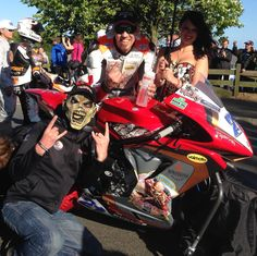 @peterhickman60 @IronMaiden @IronMaidenBeer @LeeHardyRacing Loud and Proud TT 2015