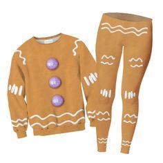 Combos - Gingerbread Man Sweater + Leggings Combo