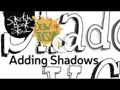 Today's Draw Tip Tuesday is pretty shady–and we mean that in the most complimentary way. In this video, Sketchbook Skool co-founder Koosje Koene shows you how to add shadows to your lettering. Different types of pens and pencils, used different ways, can create depth and special effects–if you know the one pro trick Koosje will share with you! Watch the video and you'll soon see the light on how to create cool shadows. And for more of these tips, tricks, and inspiration: Sketchbookskool.com