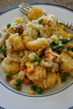 Chicken Tater Tot Casserole: Savory Sweet and Satisfying