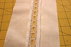 French seams, lace insertion and pintucks are techniques commonly found in French hand sewing. Learn how to add these techniques to your projects!