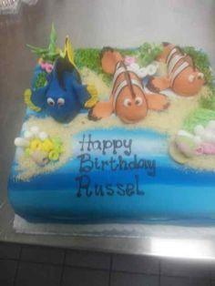 nemo 3d cake