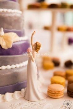 Figurine de gâteau de mariage