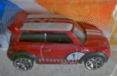 HOT WHEELS 2011 NEW MODELS MINI CHALLENGE  (RED) FREE SHIPPING!!