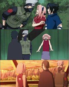 Anime Naruto, Naruto Vs Sasuke, Kakashi Sensei, Naruto Funny, Naruto Girls, Otaku Anime, Manga Anime, Sasuke Uchiha Sakura Haruno, Naruto Uzumaki Shippuden