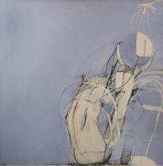 Bather and Mirror (second version)- Brett Whiteley, gouache on paper mounted board, 1964 Contemporary Paintings, Australian Artists, Sculpture Art, Artist Inspiration, Mirror Art, Figure Painting, Australian Art, Fine Art Auctions, Art