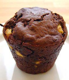 Tredobbelt Chokolade Muffin (Triple Chocolate Muffin)