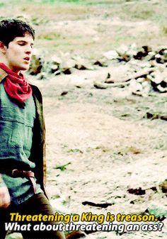 gif gifs ** Arthur Pendragon Merlin BBC Merlin merthur merlin bbc 1knotes merlinedit basically married also sassy merlin is a marvel
