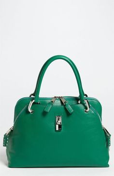 Handbag lust: MARC JACOBS 'Paradise Rio' Bag #emerald #coloroftheyear