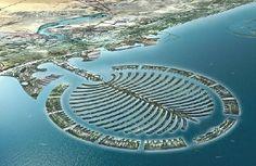 Palm Island - Dubai! Want to visit this so bad!