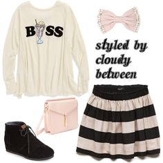 Boss...so appropriate for a tween girl;)