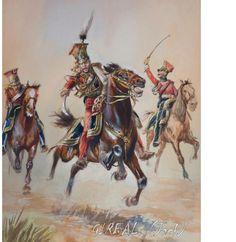 General Colbert, Red Lancers, Waterloo