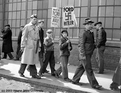 1941 Strike at River Rouge Plant