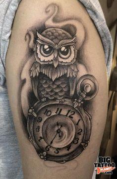 Danielle Kelly - Black and Grey Tattoo | Big Tattoo Planet