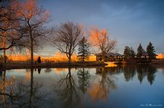 """""""Cresting Sunlight"""" - Belmar Park in Lakewood, Colorado (by John De Bord) Lakewood Colorado, Colorado Trip, Beautiful Places, Beautiful Pictures, Amazing Places, We Are Best Friends, Crests, Oh The Places You'll Go, Sunlight"""