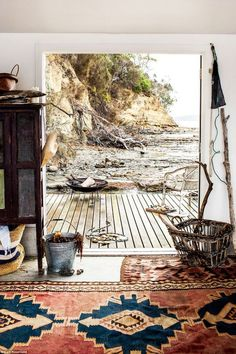 amazing view and rug
