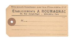 french tag from my personal collection   danielle muller   daniellemuller.typepad.com