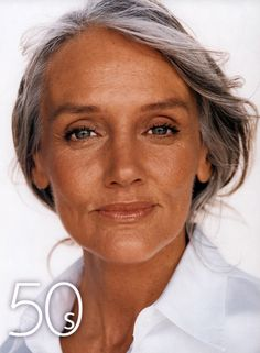 Cindy Joseph if this is what i look like at 50+ i'll consider myself lucky.  #AgeIsJustANumber #SilverLocks