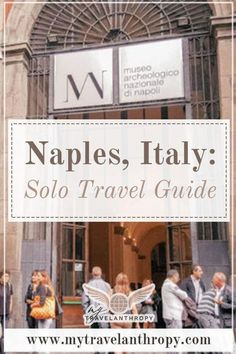 Planning a vacation to Naples, Italy? This travel guide to solo travel in Naples Italy includes transportation in Naples, day trips from Naples Italy, where to eat in Naples, and where to stay in Naples. | Naples Italy travel guide | Naples Italy solo travel | Naples Italy beautiful places | Italy solo female | Italy solo travel | traveling to Italy solo | Italy alone solo travel Solo Travel Tips, Italy Travel Tips, Europe Travel Guide, Travel Guides, Travel Destinations, Asia Travel, Africa Destinations, Backpacking Europe, Wanderlust Travel