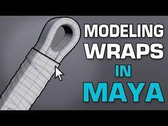 How to Model Wraps in Maya - YouTube