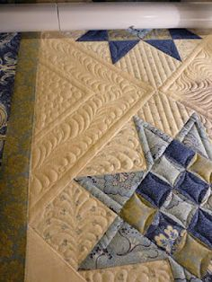 Sewing & Quilt Gallery: Quilting a Wedding Quilt