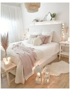 Room Ideas Bedroom, Home Decor Bedroom, Dream Bedroom, Bedroom Girls, Bedroom Furniture, Girl Bedroom Designs, Master Bedroom, Bedroom Ideas On A Budget, Blush Bedroom