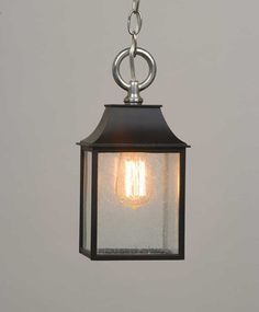 Check out the Mini Stable light fixture from The Urban Electric Co.