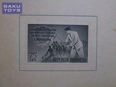 Perangko Indonesia 1961 Soekarno Pembangunan Nasional FDC