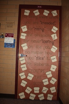 classroom decor- cute! Could change the wording to be geared for the kids