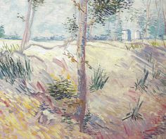 https://flic.kr/p/cWhX8E | Vincent van Gogh - Trees on a Slope, 1887 (P. and N. de Boer Collection Amsterdam Netherlands) Van Gogh: Up Close at Philadelphia Museum of Art | Vincent van Gogh - Trees on a Slope, 1887 (P. and N. de Boer Collection Amsterdam Netherlands) Van Gogh: Up Close at Philadelphia Museum of Art (Postcard)