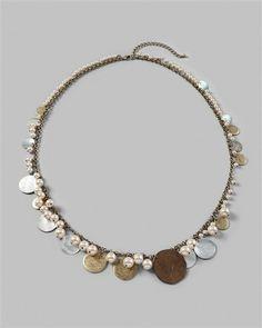 Calista long necklace