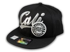 This is a High Quality Black California Republic Baseball Cap! It s an  adjustable Snapback 525162b1805